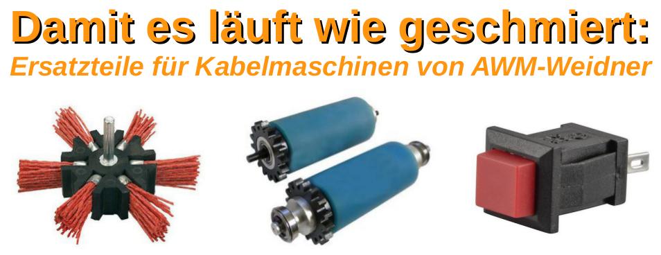 Ersatzteile für Kabelmaschinen